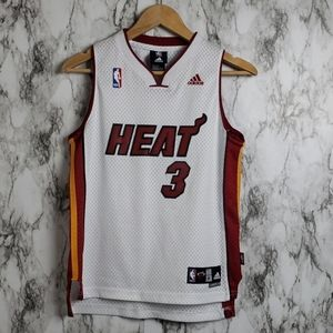 Adidads Dyawne Wade Miami Heat Jersey